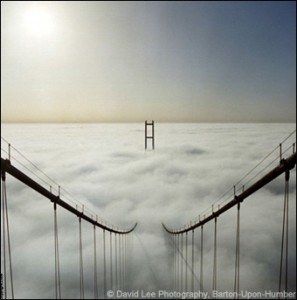 Golden Gate in the Clouds
